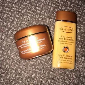 Brand New Clarins self tanning for face and body